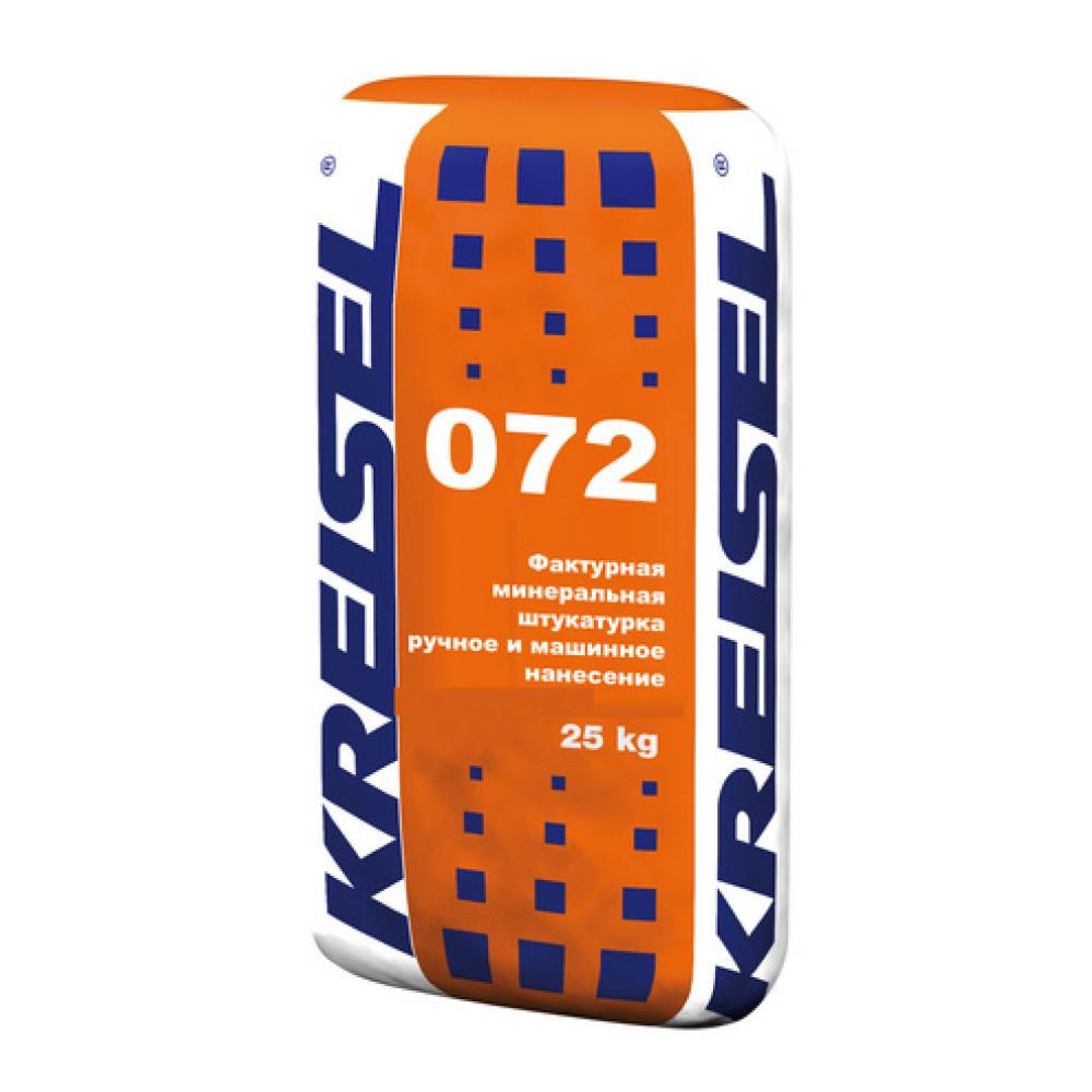 Фактурная минеральная штукатурка барашек KORNPUTZ BR 072 Kreisel, 25 кг для внутренних и наружных работ
